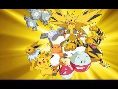 Pokemon electricidad