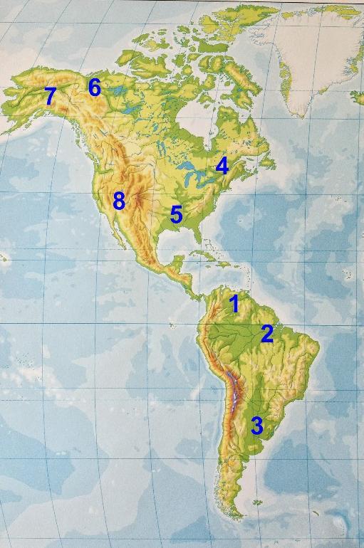 Ríos de América.