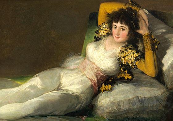 Goya Maja Vestida
