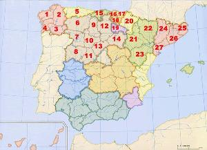 España-Provincias-Norte